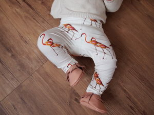 Flamingo Soft Cotton Leggings - new baby gifts