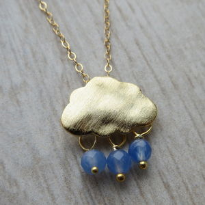 Fluffy Cloud Necklace - necklaces