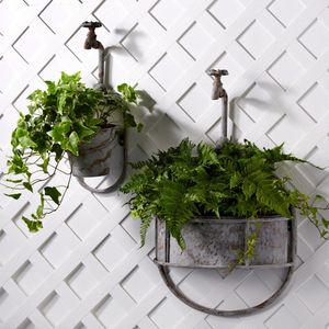 Vintage Garden Tap Planter - small garden ideas