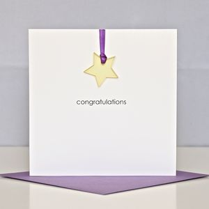 'Congratulations' Greeting Card - new baby cards