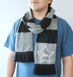 Personalised Star Scarf