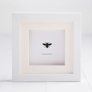 Personalised Bee Mine Box Frame