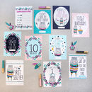 Flora Bear Cards For Baby's Milestones