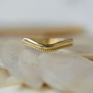 Shaped Wedding Ring - med-inspired wedding styling