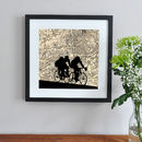 Personalised Cycling Map Print