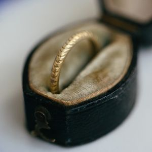 Engraved Wedding Ring - wedding rings
