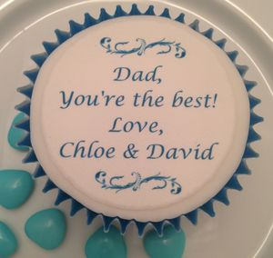 'Dad, You're The Best' Cupcake Toppers