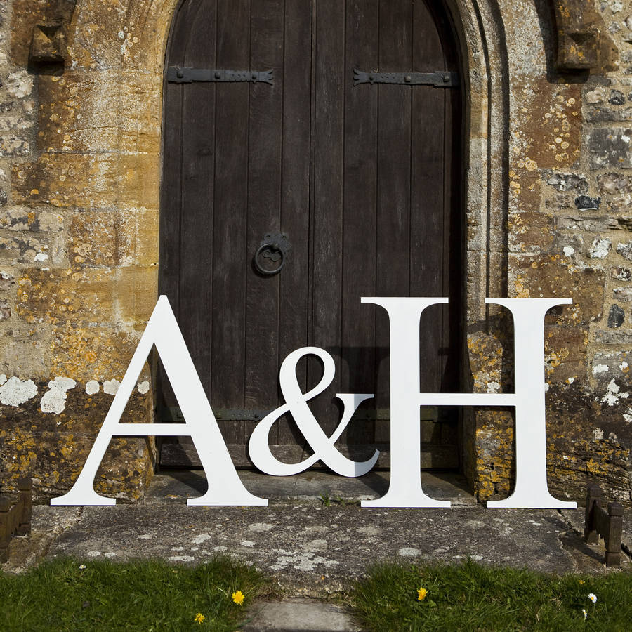 large wooden letters cheap bespoke wooden letter by jonny 39 s 22698 | original personalised bespoke giant wooden letters