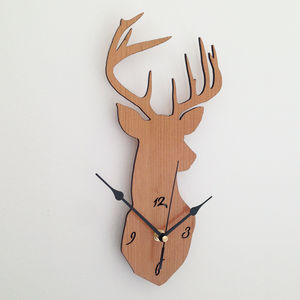Stag Clock - clocks