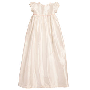 Silk Elsie Christening Gown