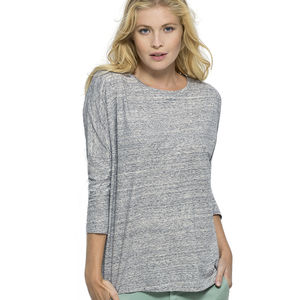 Women's Organic Three Quarter Length Sleeve Top