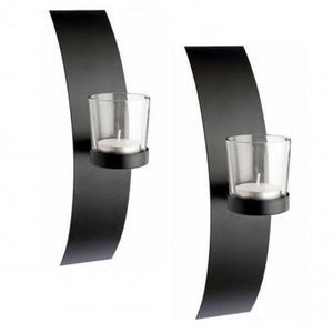 Set Of Two Milan Wall Sconce Tealight Candle Holders - lighting