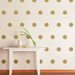 Polka Dots Wall Sticker Set