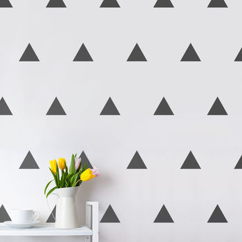 Triangles Wall Sticker Set