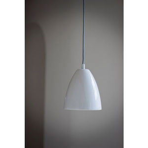 Pendant Ceiling Light In Chalk