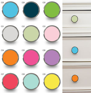 Colourful Fun Decorative Cupboard Knobs - door knobs & handles