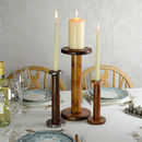 Recycled Bobbin Candlestick