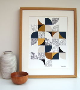 Curves Giclee Print - contemporary art