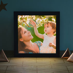Personalised Photo 'Light Box' - less ordinary wall art