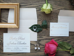 Barker Wedding Invitation Suite