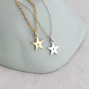 Personalised Bright Star Necklace - necklaces & pendants