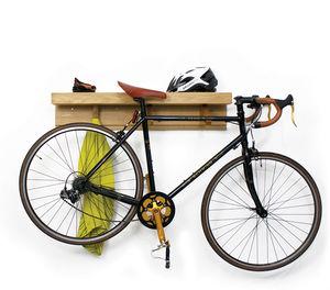 Shelfie Wooden Shelf And Bike Rack