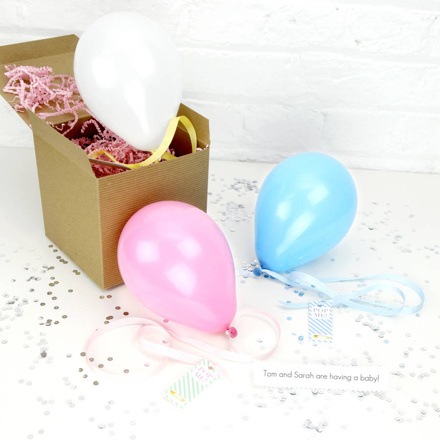 Personalised Baby Announcement Balloon