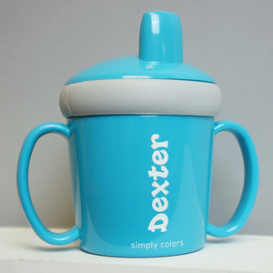 Personalised Anti Leak Beaker - baby care