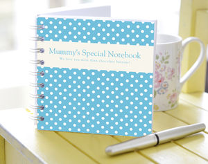 Personalised Mum's Notebook