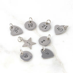 Add On Charms For Dose Of Rose Jewellery - personalised jewellery