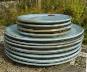 Hand Thrown Plate - tableware
