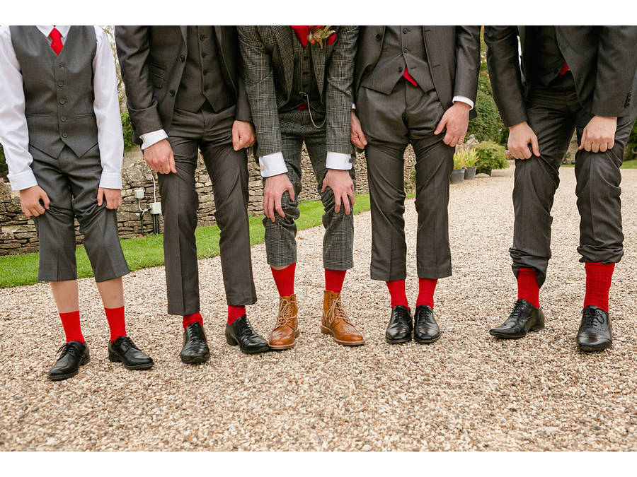 Usher Groomsman Or Best Man Wedding Socks Gift By Archer Peyton
