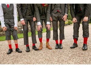 Usher, Groomsman Or Best Man Wedding Socks Gift