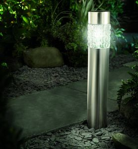 Solar Powered Bollard Light With Motion Sensor - lights & lanterns