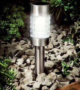 Solar Marker Light In Classic Stainless Steel - shop by price