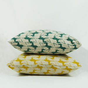 Colts Cushion Covers - patterned cushions