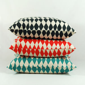 Rough Diamond Cushion Covers
