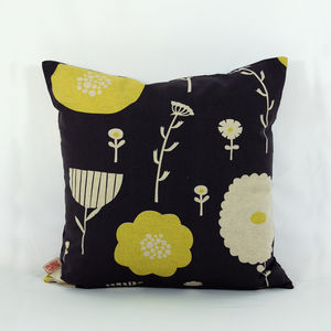 Wildflower Cushion Cover - patterned cushions