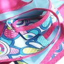 Bunting Fabric 'Blue And Pink Skies'