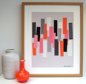 Simple Shapes No1 Giclee Print