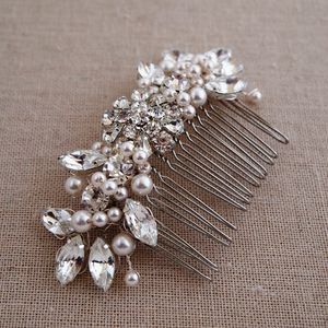 Chloe Vintage Inspired Comb - bridal hairpieces