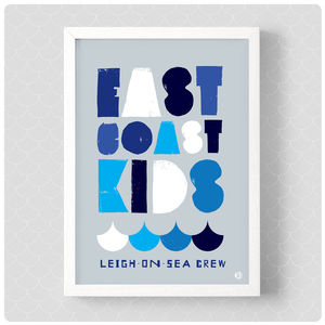 East Coast Kids Print