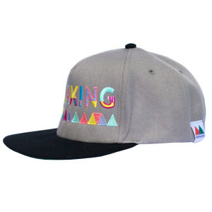 'Thinking' Cap. Grey - men's accessories