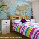 World Map Wallpaper - Environmental