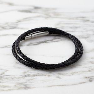 Leather Wrap Bracelet - bracelets