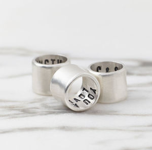 Individual Secret Message Storyteller Links - men's jewellery