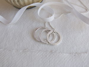 Personalised Circles Family Necklace - necklaces & pendants