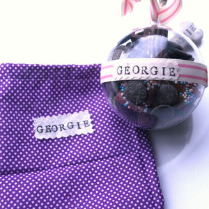 Personalised Pet Treat Ball