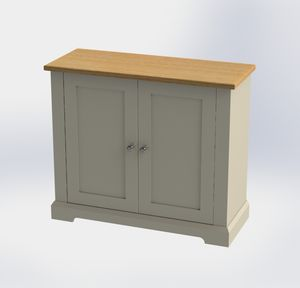 Pilsley Slimline Shoe Cupboard In Choice Of Colours - furniture