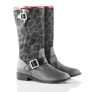 Biker Boot - women's fashion